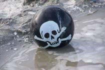 Piraten-Ei   (c) mieske/pixelio.de