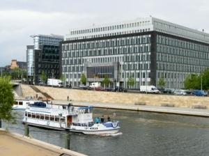 Gebäude der Bundespressekonferenz Berlin