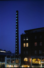 Fibonacci-Reihe (Mario Merz, 2000), Zentrum für Internationale Lichtkunst Copyright (c) Stadt Unna